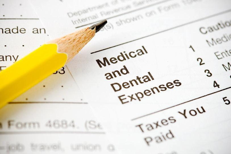 medical and dental insurance paperwork